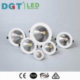 高く効率的なDimmableの円形の防眩穂軸LEDの天井Downlight