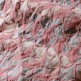 Allover африканская ткань шнурка Organza
