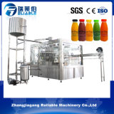 Máquina de rellenar aséptica de fruta de la botella automática del zumo