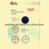 Reloj de cuarzo hermoso de la pared de Digitaces para la venta caliente de la decoración casera