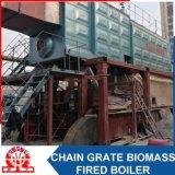 Scaldacqua infornato biomassa orizzontale industriale del Doppio-Timpano dello SZL 2.8-0.7MPa
