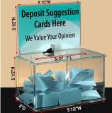 큰 기부금 상자 - 투표함 - 투서함 - 아크릴 상자 - 끝 상자