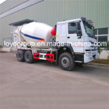 Sinotruk HOWO 6X4の具体的なミキサーのトラックのコンクリートミキサー車のトラック