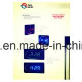 Horloge de mur de DEL Digital avec différentes couleurs dans les tailles importantes