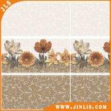 Azulejo de cerámica esmaltado Minqing de la pared de la inyección de tinta brillante del material de construcción