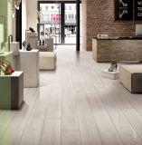Bauholz-Holz glasig-glänzende Porzellan-Fliese für Wand und Fußboden (LF01)