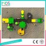 جديدة تصميم ملعب خارجيّة منزلق بلاستيكيّة مع أرجوحة لأنّ أطفال ([هس06101])