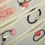 80 Clear Pockets Jewelry Decoração saco de armazenamento para banheiro