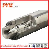 Tornillo y barril bimetálicos para el moldeo a presión