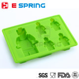 Grand brique de construction Cake Ice Cube Tray Silicone Mold