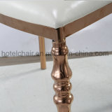 低い割引ステンレス鋼はレストランのための王位の椅子の議長を務める