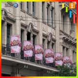 Street Hanging Fabric Printing Flying Banner