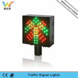 semaforo rosso di verde LED di traffico a singhiozzo della stazione del tributo di 200mm