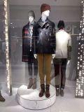 Mannequin masculino da venda quente com cabeça e mãos do cromo