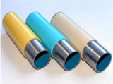 Tubi d'acciaio rivestiti di plastica per racking
