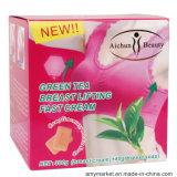 Груди Aichun груди зеленого чая поднимаясь сливк Cream увеличивая плюс мыло груди