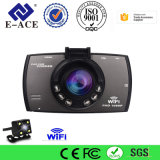 Gravador de vídeo duplo da câmera do traço da lente da visão noturna cheia de HD