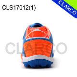柔らかい革が付いている子供のスポーツのサッカーの屋内靴