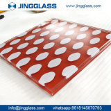 Glace souillée teintée plate en gros 3-22mm de couleur en vente