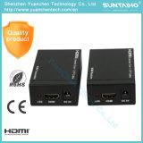1.4V 60m HDMIエクステンダーサポート3D 1080PはIRのCat5e/6を選抜する