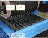 Máquinas que pulimentan inoxidables laterales dobles del tubo de acero