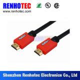 Красный разъем электроники пластмассы 3G 4G HDMI Tyco