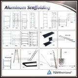 Mobiles Aluminiumbaugerüst mit Strichleitern Multi-Verwenden