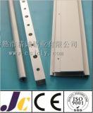 Profilé en aluminium avec usinage divers, profilé en aluminium avec coupe (JC-P-83049)
