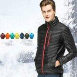 Куртка зимы износа людей способа изготовления Китая Striped отсутствие клобука
