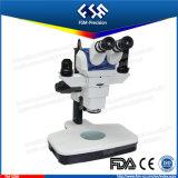 FM-Sz66 microscope normal de stéréo de zoom du rapport optique 6.8X-45X