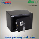 Mini casella sicura con la serratura chiave per la casa