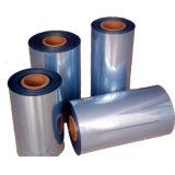 Película de Shrink calandrada do PVC para a etiqueta da luva, tubulação, aplicação da cápsula do vinho