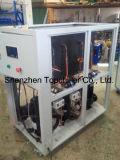 réfrigérateur refroidi à l'eau de glycol de 25kw -10c dans le traitement par lots concret