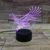아크릴 격판덮개는 기술 다채로운 LED 선물을 새긴다