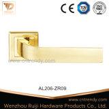 Maniglia di leva di alluminio della serratura della maniglia di portello di Zamak sulla rosetta (AL206-ZR09)