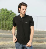 Рубашка пола хорошего качества 100%Cotton с изготовленный на заказ логосом