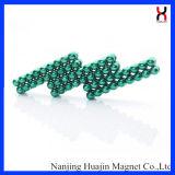 Neodym-permanenter bunter runder kugelförmiger Magnet