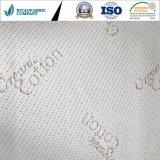 Tessuto di lavoro a maglia del cotone del materasso di tela organico del poliestere