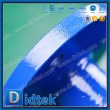 A flange petroquímica do aço de carbono de Didtek termina a válvula de esfera de 3 maneiras