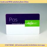 신용 카드 크기를 가진 플라스틱 회원 접근 카드