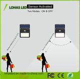 luz solar sin hilos de la seguridad del movimiento de 5W LED para al aire libre