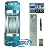 Levages panoramiques de passager d'ascenseur en verre