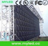 Arrendamento do diodo emissor de luz/gabinete ao ar livre do alumínio carcaça do evento Show/HD P4.8/Die