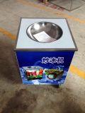 Einzelne Wannen-Fischrogen-Eiscreme-Maschine mit gefrorener Platte