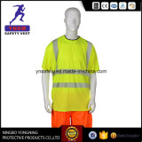 Het fluorescente Hoge Overhemd van de Veiligheid van het Zicht Weerspiegelende voor Brazilië En20471