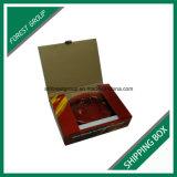 Коробка перевозкы груза почтоотправителя формы книги Corrugated с печатание цвета