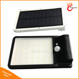 500 indicatore luminoso solare esterno alimentato solare del giardino della lampada da parete PIR di movimento di lumen LED della lampada solare chiara del sensore