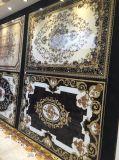 Плитка пола ковра фарфора Polished кристаллический золотистая