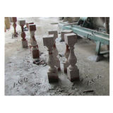 CNC de Scherpe Machine van de Steen voor Balustrade/Draaibank/de Verwerking van de Kolom (SYF1800)