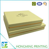Logo Embossing Cardboard Wedding Chocolate Gift Box